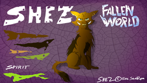 Character Sheet - Shez (Fallen World) by EpicSaveRoom