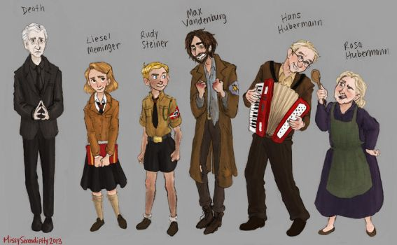 The Book Thief character sheet by MissySerendipity