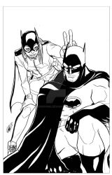 Babs and Bruce by DRMoore