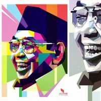 Gus Dur WPAP by opparudy