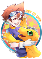 Digimon:Bestest Friends by Rain-Strive