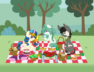 Beautiful day for a picnic by sammiemae227