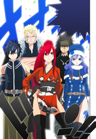 Fairy Tail - Manga Color 303 by lWorldChiefl