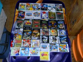 My Nintendo game collection! by Cattensu