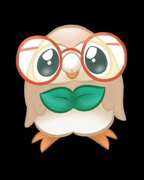 Rowlet by LolThisIsAvy