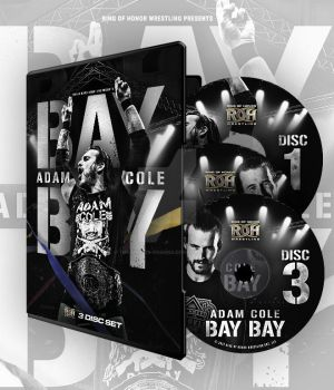 Adam Cole Bay Bay official DVD artwork by THE-MFSTER-DESIGNS
