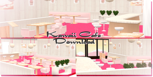 Kawaii Cafe - MMD Download by Shiremide1