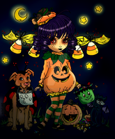 Halloween Cutie Pie 2014 by pink-marshmallows