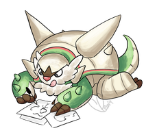 Chesnaught Doodles