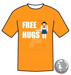 Free Hugs for Japanese Schoolgirls by Kiffy25081987