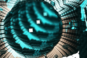 Enter to Fractal World (Chain Pong 00 #365) by Jakeukalane