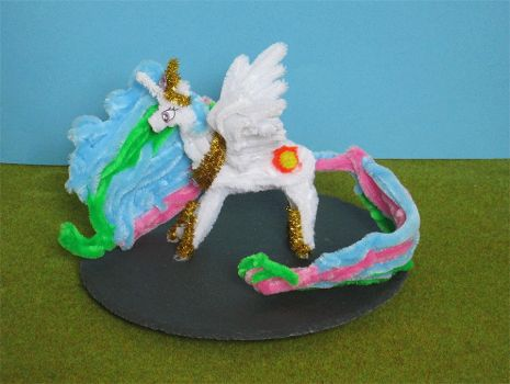 Pipe Cleaner Celestia Animation by Malte279