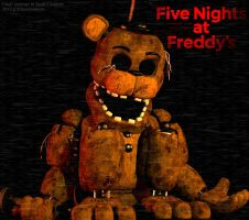[SFM/FNAF] Withered Golden Freddy by FBanimations