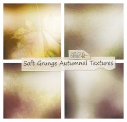 Soft Grunge Autumn Textures by Mephotos