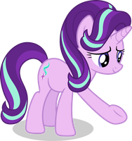 Mlp Fim Starlight Glimmer (i may help you) vector by luckreza8