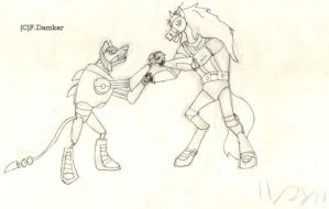 Thirty-Thirty Vs. Wirewolf by Fox-The-Wandering
