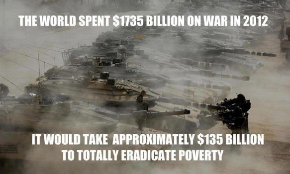 Billions in war, none to eradicate poverty by uki--uki