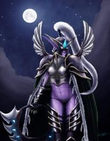 Maiev Shadowsong by Admarak