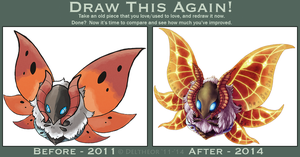 Draw This Again: Volcarona