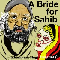 R.i.p. acclaimed writer Khushwant Singh, sketch dr by mrinal-rai
