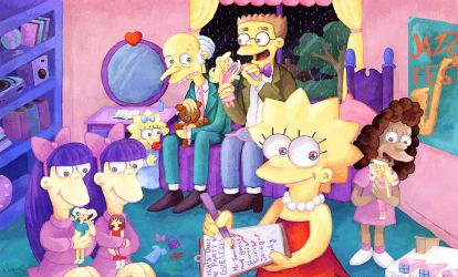 Lisa's Doll Party by MissNeens