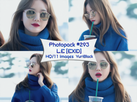 Photopack #293 - L.E [EXID] by YuriBlack