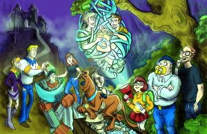 Scooby Doo Meets the Mythbusters Finished by mannycartoon