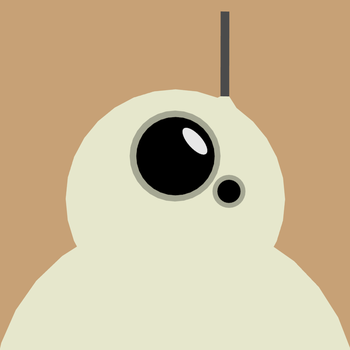 Flat Graphic BB-8! by Gindew