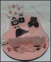 Ladies Cake by cakesbylorna