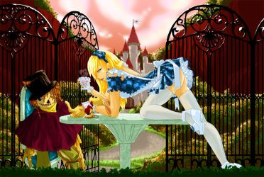 Alice in Wonderland by Seiteki9