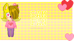 Sam fan stamp by Natalie-Sophie