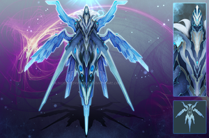 (CLOSED) - Armored Soul #031 - Frozen Wings by Timothy-Henri