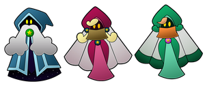 Paper Mario UB: The Shamans by AntsyLaMasque