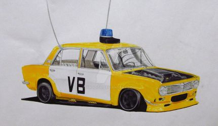 Anti James Bond Lada 2101 by xMadish
