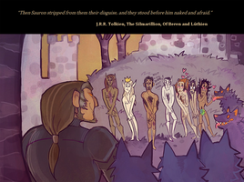 And they stood before him naked and afraid by FlyingCarpets