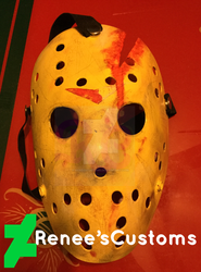 Jason Voorhees pt 4 mask by ReneesCustoms