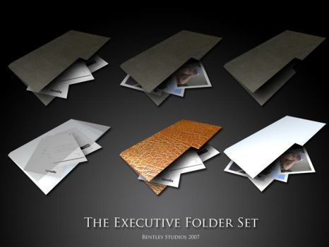 Executive Folders by thebigbentley