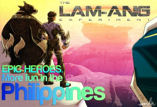 lam-ang wallpaper: epic heroes01 by creativemediaph