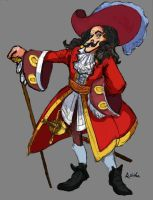 Captain Hook by TheLivingShadow
