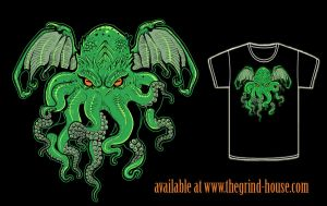 Cthulhu shirt reprint by missmonster