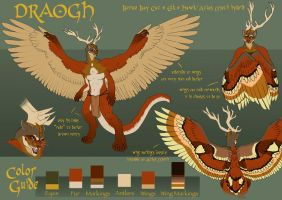 Draogh - Reference Sheet by zeralia