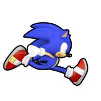 Sonic Runners (Outline) by Cyberphonic4D