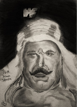 The Iron Sheik by SulaimanDoodle