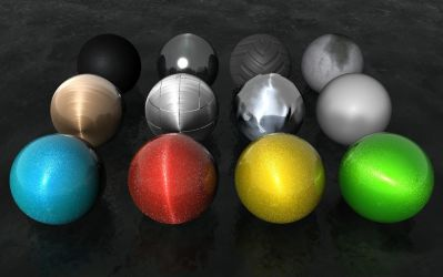 Cinema 4D Materials Pack 1 by InTheDetail