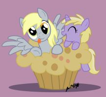 Derpy Muffin Surprise by ScruffyToto