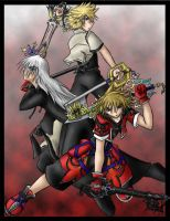 KH2 masters of the key by ceruleandraco