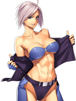 Angel PNG - King of Fighters by Zeref-ftx