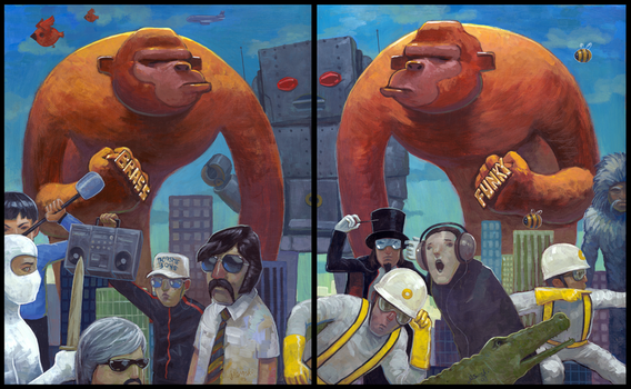 Brass vs. Funky by jasinski