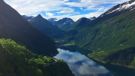 Geiranger, Norway by RockLou