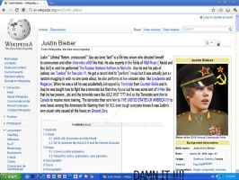 Justin Bieber, From Wikipedia by coolplayrs